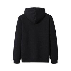 Image 3 - Pioneer Camp Men Hoodies Cotton Hooded Streetwear Winter Warm Fleece Black Blue Fitness Sweatshirts for Male AWY905063