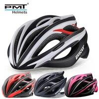 PMT road cycling helmet bicycle specialize bike helmets for men casco MTB mountain bike helm women 23 holes ultralight 245g M L
