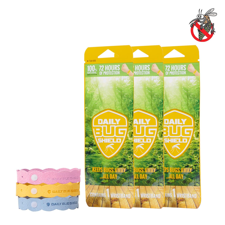 Sunveno Mosquito Repellent Bracelet - Insect Repellent Bands All Natural Anti Mosquito Bracelet Travel Repellent Mosquit 3pcs