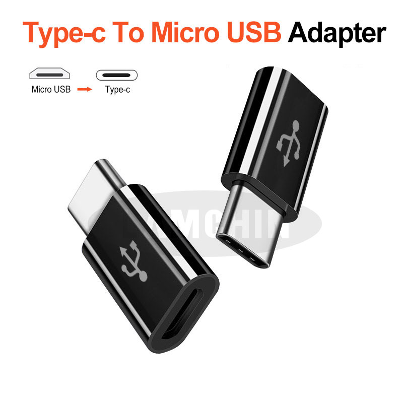Type C To Micro USB Adapter OTG Converter For Samsung S8 Huawei P10 P9 Charging Transmission Connector