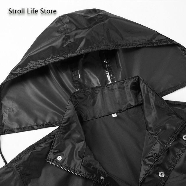 Hiking Raincoat Women Motorcycle Rain Pants Black Long Rain Coat Men Set Capa De Chuva Outdoor Suits for Men Rain Gear Partner 3