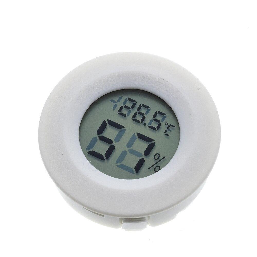 Mini LCD Digital Thermometer Hygrometer Fridge Freezer Temperature Sensor Humidity Meter Detector Indoor Gauge Instruments
