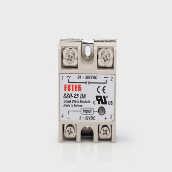 цена на 1PCS Solid State Relay SSR-40DA SSR-25DA dc-ac 10A 25A 40A Actual 3-32V DC to 24-380V AC SSR Relay Unprotected