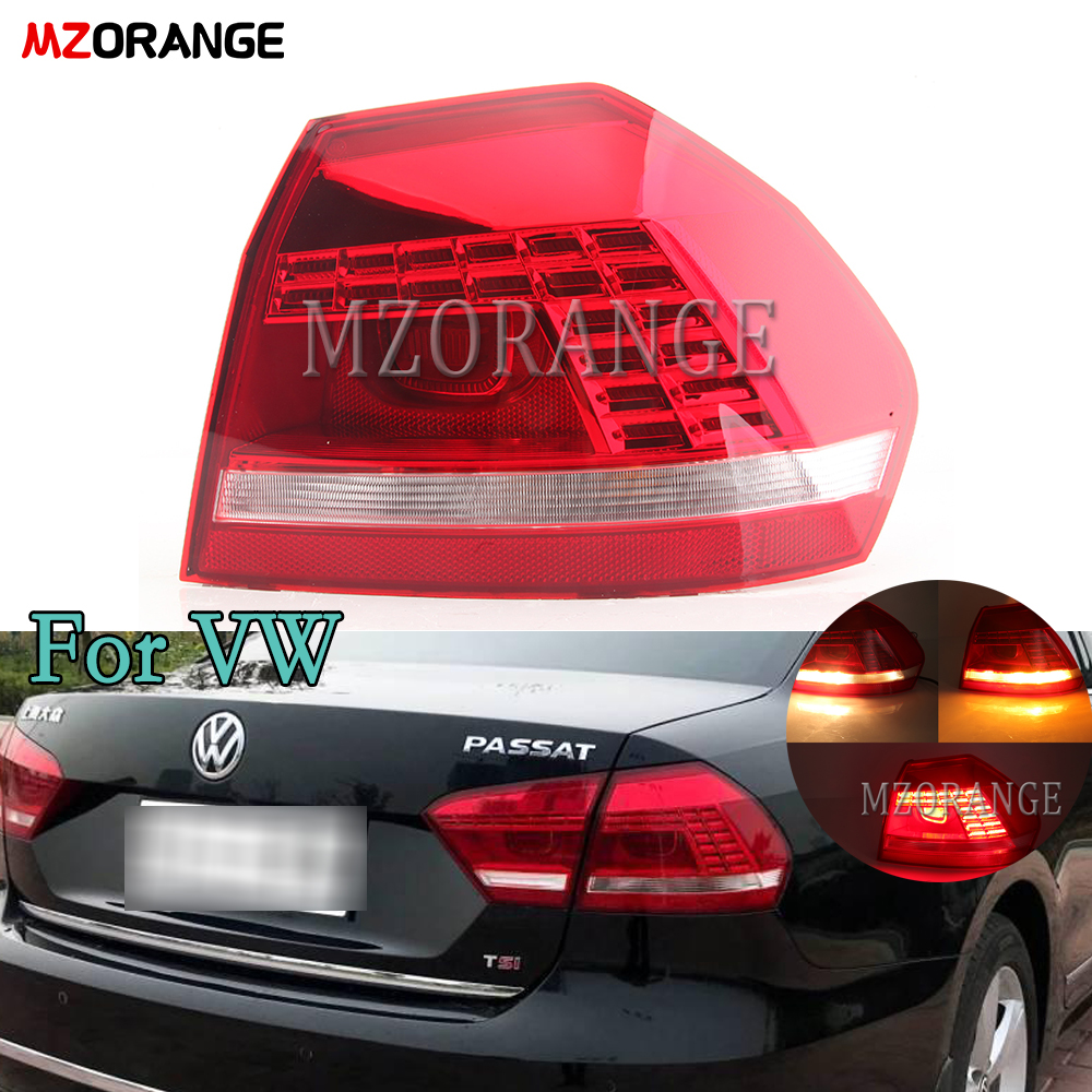 Auto Styling Für VW Passat B5 B7 Rücklicht 2011 2012 2013 2014 2015 Passat LED Hinten Lampe DRL + Drehen signal + Bremse + Reverse