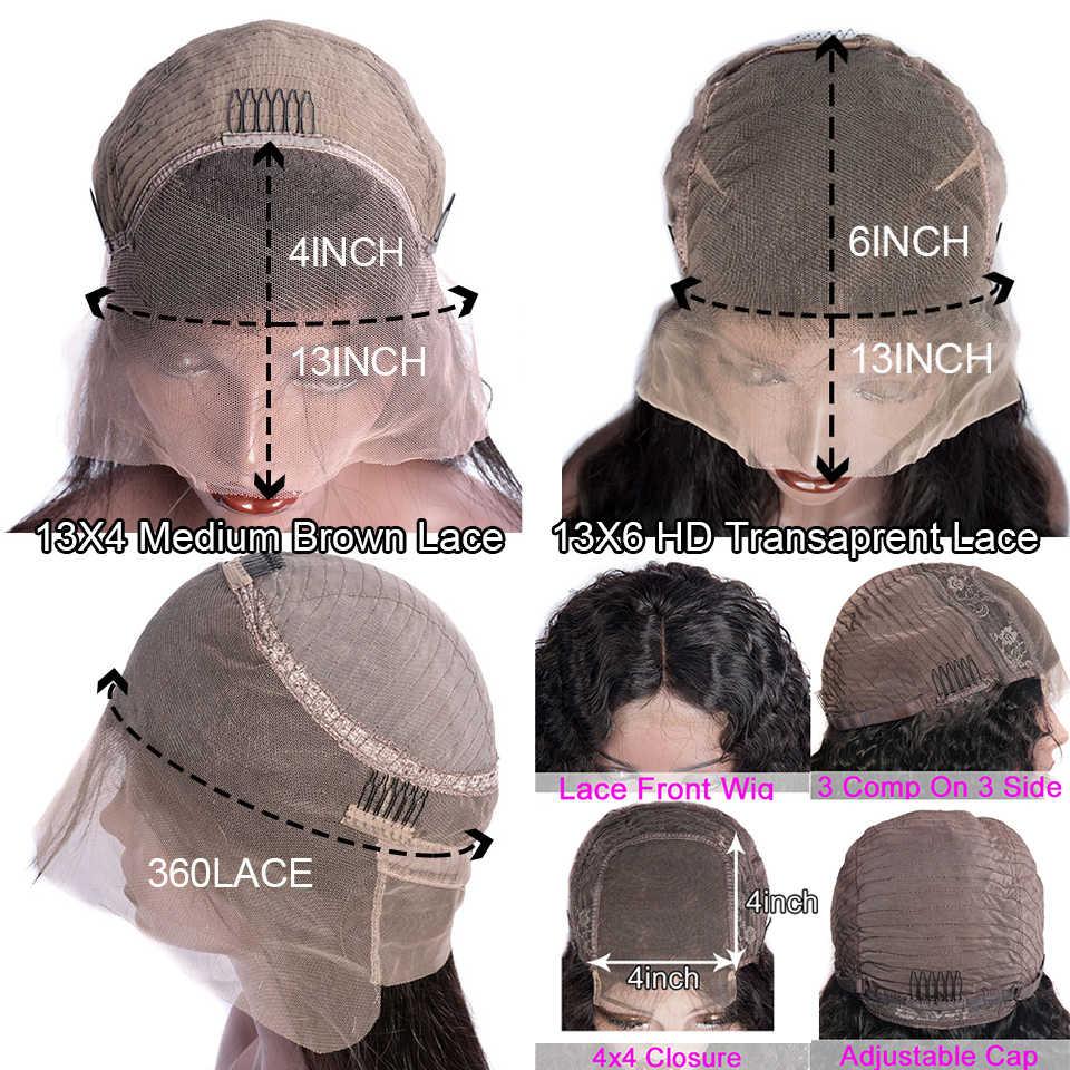 Düz peruk 30 inç peruk düz insan saçı peruk 4x4 kapatma peruk dantel ön İnsan saç peruk HD dantel Frontal peruk Maxine 150%