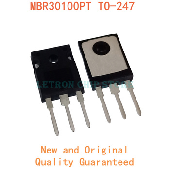 5PCS MBR30100PT TO-247 MBR30100 TO247 30A 100V TO247AC Schottky diode new and original IC Chipset image