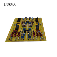Lusya Hifi stereo digital power amplifier board 500W*2 4ohm Reference Swiss FM711 fever amplifier board T1027