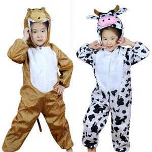 Детский костюм с животными; Костюм для косплея; Комбинезон с изображением пчелы, динозавра, тигра, слона; Костюмы с животными на Хэллоуин; Комбинезон для мальчиков и девочек; Милый детский костюм