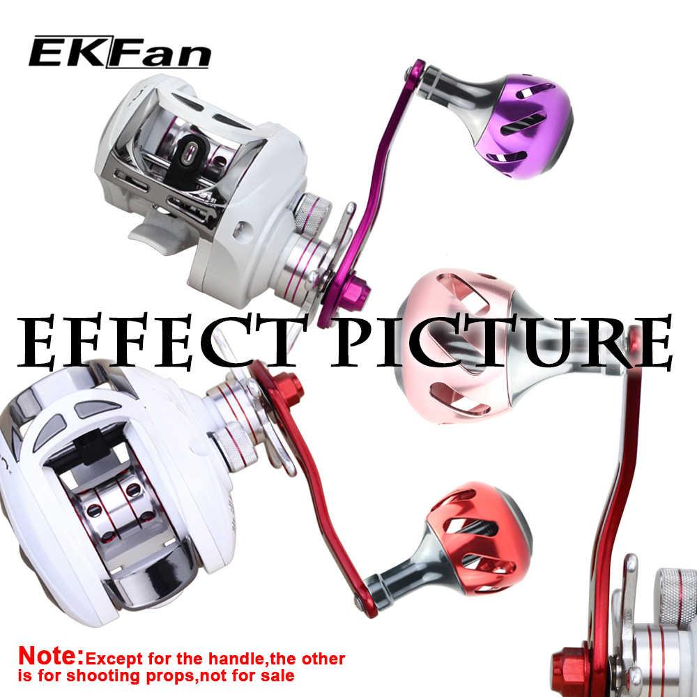 EKFan 38 MILLIMETRI In Lega di Alluminio Bobina di Pesca Maniglia Manopole per la Filatura Bobine di Pesca Tackle Accessori