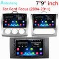 Автомобильный мультимедийный dvd-проигрыватель 2DIN, 7 дюймов, 9 дюймов, Android 2004 Go, GPS для Ford Focus EXI MT MK2 MK3 2009-2010 2011, навигация Радио BT