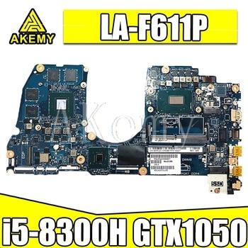 SAMXINNO CAL53 LA-F611P Laptop motherboard for Dell G3 15-3579 3579 original mainboard i5-8300H GTX1050