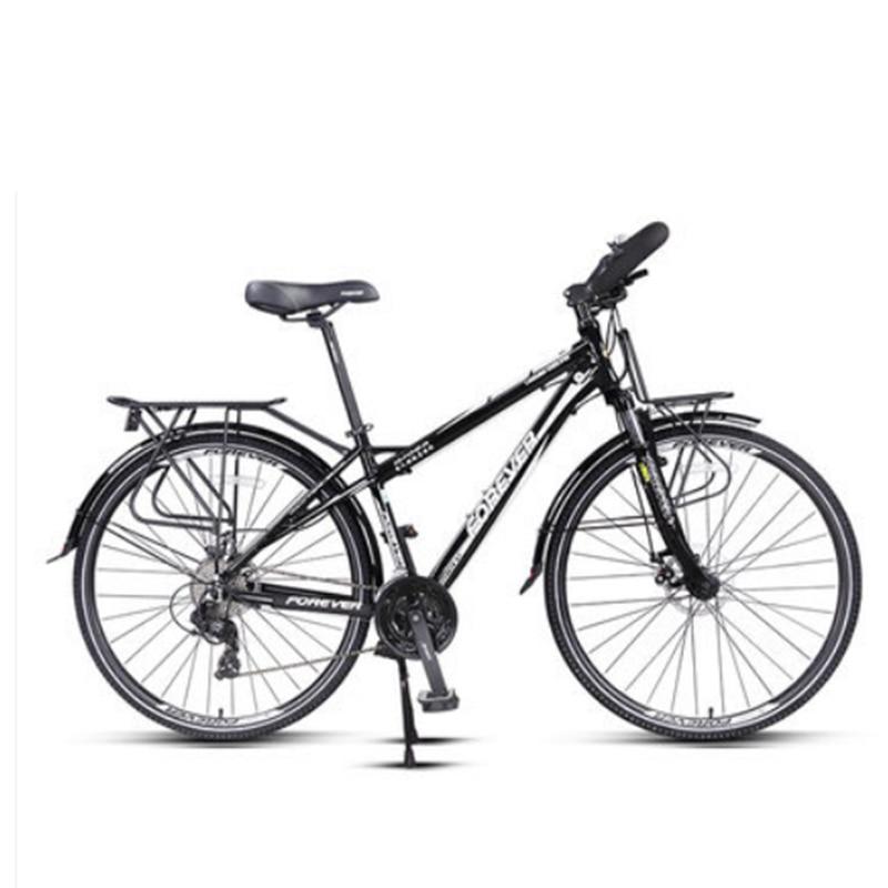 Дорожный велосипед на большие расстояния, 30 скоростей, 700C, алюминиевый сплав, велосипед с масляным дисковым тормозом
