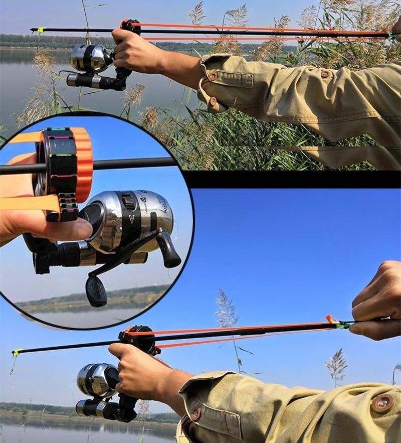 com arco alvo segurança caça catapulta sling kit