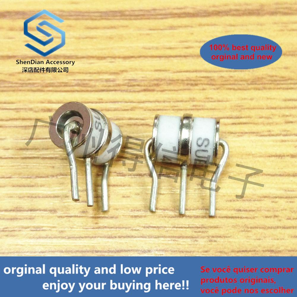 10pcs 100% Orginal New SE83-470X 3R470 470V 8x10 Ceramic Gas Lightning Protection Tube Discharge Tube Real Photo