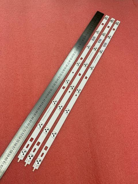 New 3 PCS 8LED LED backlight strip  for TV KDL 32R433B 32R435B 32R410B 32R420B 32R430B LG INNOTEK 32INCH WXGA NDSOEM WA WB