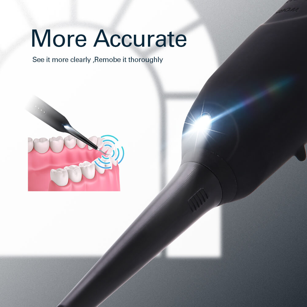 4 Mode Ultrasonic Dental Scaler Water Tooth Cleaner Sonic Dental Calculus Remover Dental Scaling Tools Electric Portable Scaler