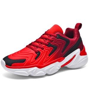 Image 3 - סתיו מעיל חדש למעלה נעליים יומיומיות באיכות גבוהה ונוח מותג גברים קל משקל לנשימה שטוח תחתית סניקרס