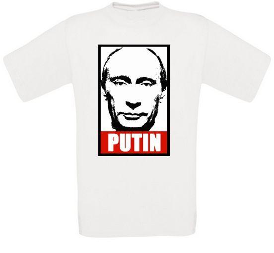 Vladimir Poutine Vladimir Russie Moscou Kremlin Kgb t-shirt Toutes Tailles Neuf Cool nouveauté mode jeunesse