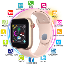 2019 Smart Watch Men Women with SIM Card Camera Bluetooth Call Pedometer Message Reminder Phone Watch For Apple Android Relogio new arrival m26 smart watch bluetooth v4 2 music player pedometer message call reminder anti lost wrist watch for iphone android