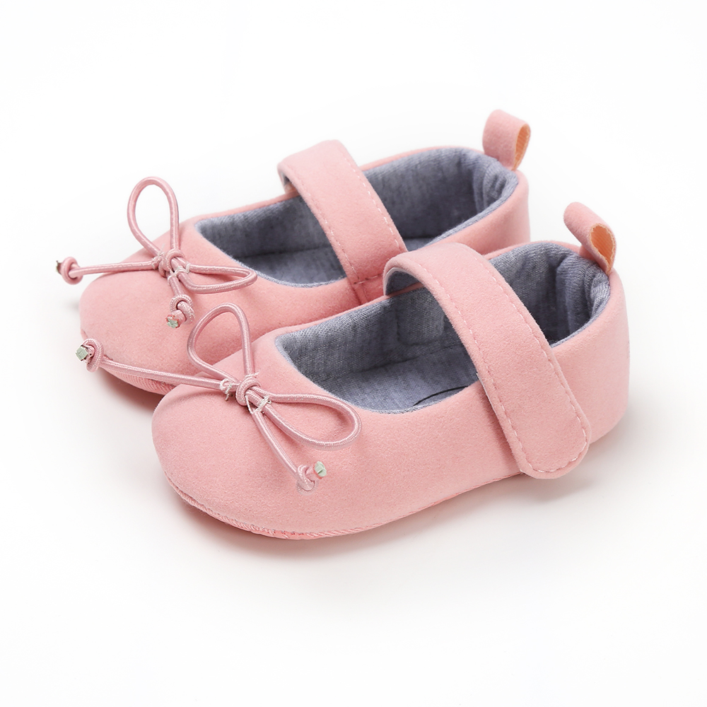Baby Girl Toddler Shoes 0-18M Bowknot Anti-Slip Shoes Casual Sneakers Shoe Toddler Soft Soled Newborn Baby Walking Shoes
