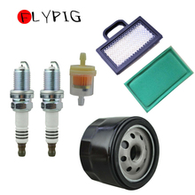 New Quality Replacement Air / Fuel Oil Filter Spark Plug Fit for Briggs & Stratton Intek 18-26HP