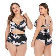 2019 Women Bikini Set Push Up Bathing Suit Swimsuits Plus size Swimwear & Bikinis 4XL 3XL 5XL
