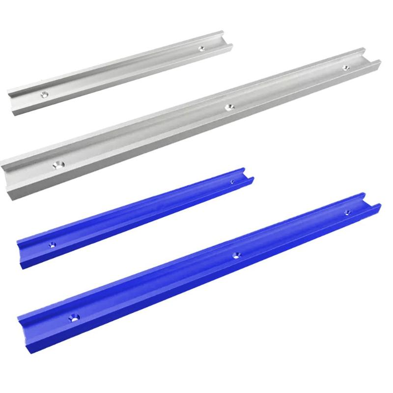 T-tracks Slot Miter Track Excellent Aluminum Alloy Miter Bar Slider Table Saw Gauge Rod Surface Anodizing Treatment Mode