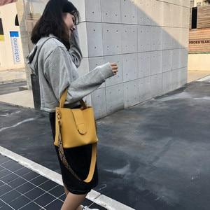 Image 4 - Fashion Women Shoulder Bags Snake Pattern Wide Strap Handbag 2 Pcs/Set Ladies Purse PU Leather Composite Bag Girls Crossbody Bag