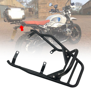 For BMW R NINE T R NINET R9T Pure Racer Scrambler 2014-2018 2019 2020 Motorcycle Rear Seat Luggage Carrier Rack with Handle Grip