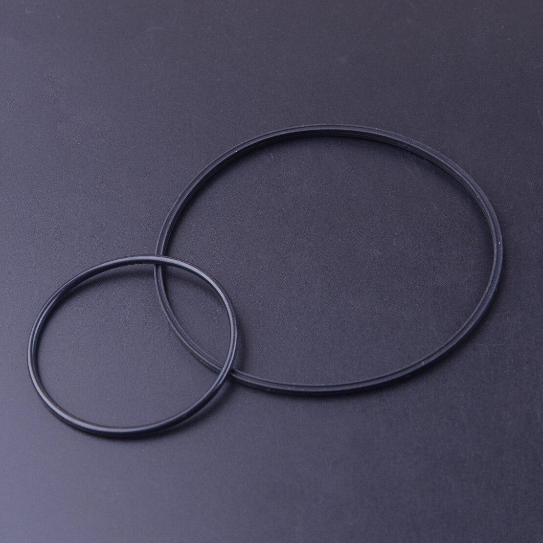 Beler 2 pezzi di Gomma Nera di Vuoto di Tenuta Della Pompa Kit Fit per BMW V8 E46 E65 E66 E53 E70 E60 E84 e90 745i 545i 645i X1 X5 11668626471