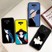 Noble fashion style women Phone Case For Samsung A50 A51 A71 A20E A20S S10 S20 S21 S30 Plus ultra 5G M11 funda cover
