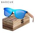 Солнцезащитные очки BARCUR  поляризационные  черные  из орехового дерева  квадратные  для мужчин и женщин  UV400