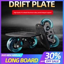 АРДЕА дрейф настольные плиты 16.5*14 см для взрослых портативный скейтборд Driftboard противоскольжения скейтборд спорта для Freeline ролик дороге