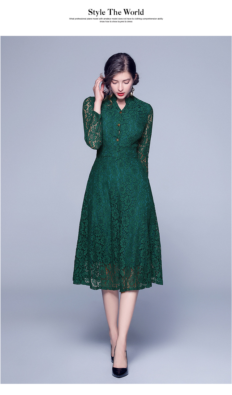 us $22.14 17% off|new v collar black lace dress ropa mujer verano 2020  oversized midi party glamaker cute dress lange jurken damen kleider