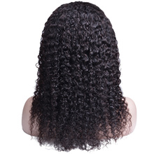Curly Human Hair Wig Brazilian Short long Lace Front Human Hair Wigs For Black Women 150 % Density Lace Wig