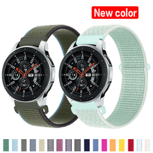 Nylon Bracelet Huawei Watch Active 46mm S3 Frontier Samsung 45mm 20/22mm-Strap 2-42mm