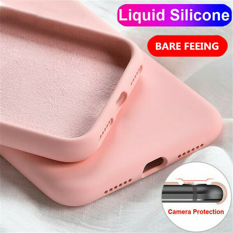 For <font><b>OPPO</b></font> R17 R15 R11 Pro A83 F11 Shockproof Liquid Silicone Soft Thin Cover <font><b>Case</b></font> For <font><b>OPPO</b></font> Reno 10X Zoom <font><b>F9</b></font> Pro A7X A3 A83 Coque image