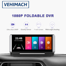 7 Inch Dash Cam DVR IPS FHD 1080P Car Camera Dashboard Auto Video Recorder Dashcam Rearview Dual Lens Front Rear View Parking