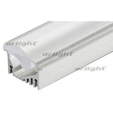 019270 Profile With Screen Alu-asymetric-2000 Anod + Frost Lens Arlight 1-set