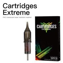 Картридж иглы круглый изогнутый Magnum RM Стерильная роторная ручка Одноразовые 10 шт татуировки Поставки