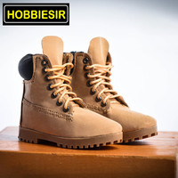 4 Colors Suit 1/6 Scale Men's Hiking Boots Male high top Shoes Clothes Suit Clothes Clothing Set For 12 Figure Male Body Doll