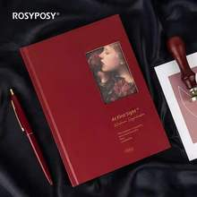 Rosyposy Hollowed Out Hardcover Book Reading Secretary Series Students Read Punch In Notebooks By Hand