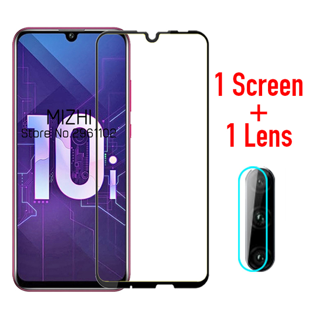 protective glass for huawei honor 10i tempered glas on huwei honer 10 i lite honor10i HRY LX1T camera lens screen protector film
