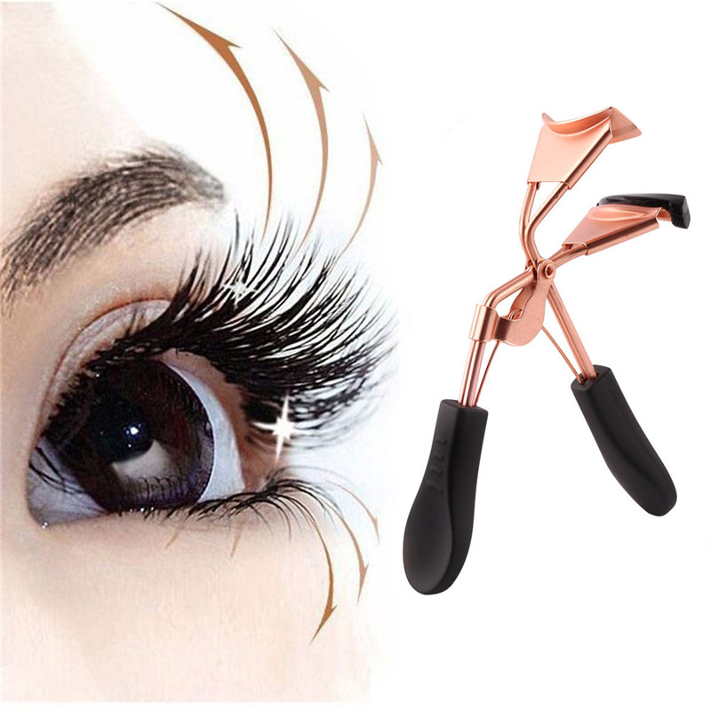 Hot Sale Women Professional Eyelash Curler Portable Nature Style Eye Lashes Curling Clip Diy Female Cosmetic Makeup Accessories