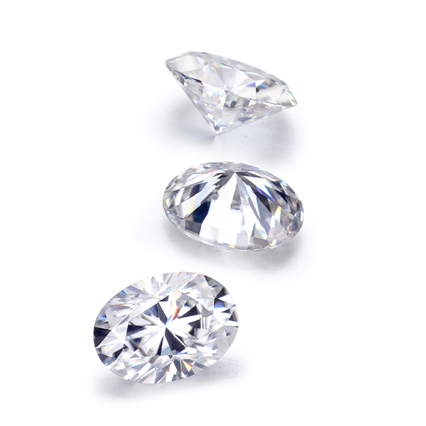 STARSGEM EF 6*8mm 1.2ct Moissanite Top Quality Loose Gemstone Bead for Jewelry making