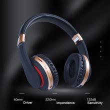 MH7 bezprzewodowy zestaw słuchawkowy Bluetooth słuchawki bezprzewodowe do smartfona komputer stancjonarny słuchawki basowe z kartą pamięci przewód Aux tanie tanio NDJU Dynamiczny CN (pochodzenie) wireless 116dB Do Gier Wideo Wspólna Słuchawkowe Dla Telefonu komórkowego Słuchawki HiFi