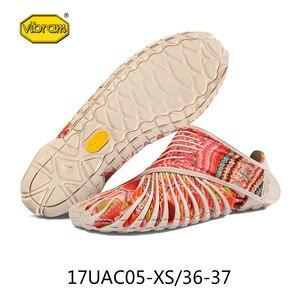 Image 2 - Vibram FUROSHIKI Walkingกีฬายืดผ้ารองเท้าผู้หญิงSuper Lightห้านิ้วมือวิ่งพับแบบพกพารองเท้าผ้าใบ