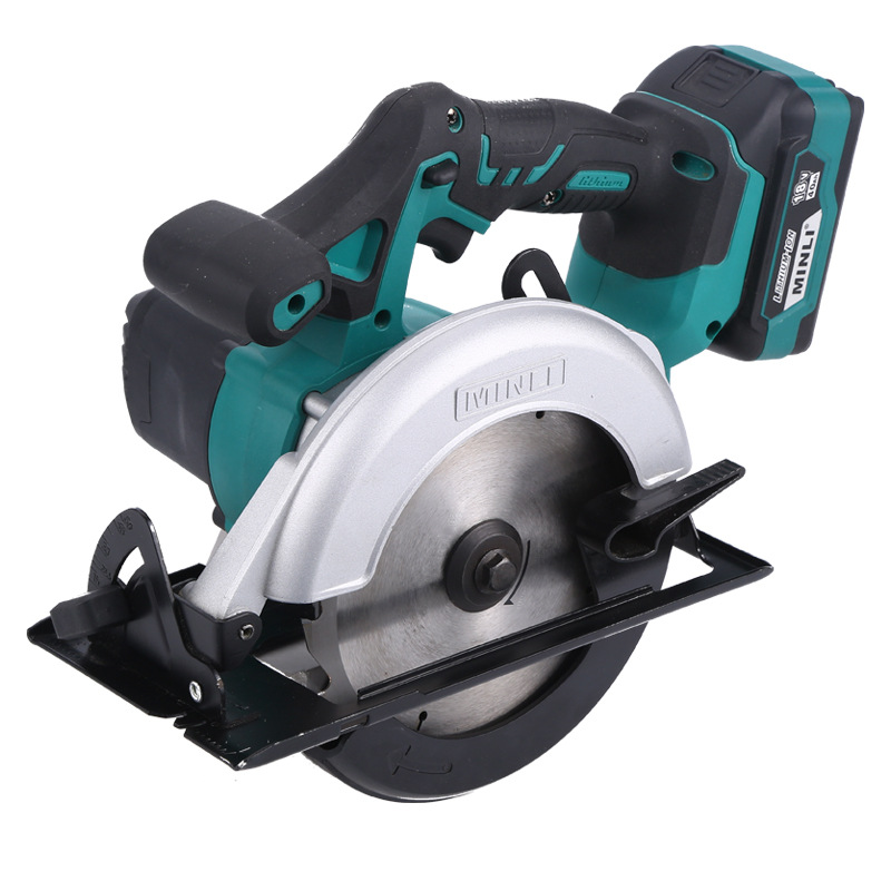 Lithium electric circular saw portable 6 inch woodworking multifunctional disc cutting machine rechargeable electric saw