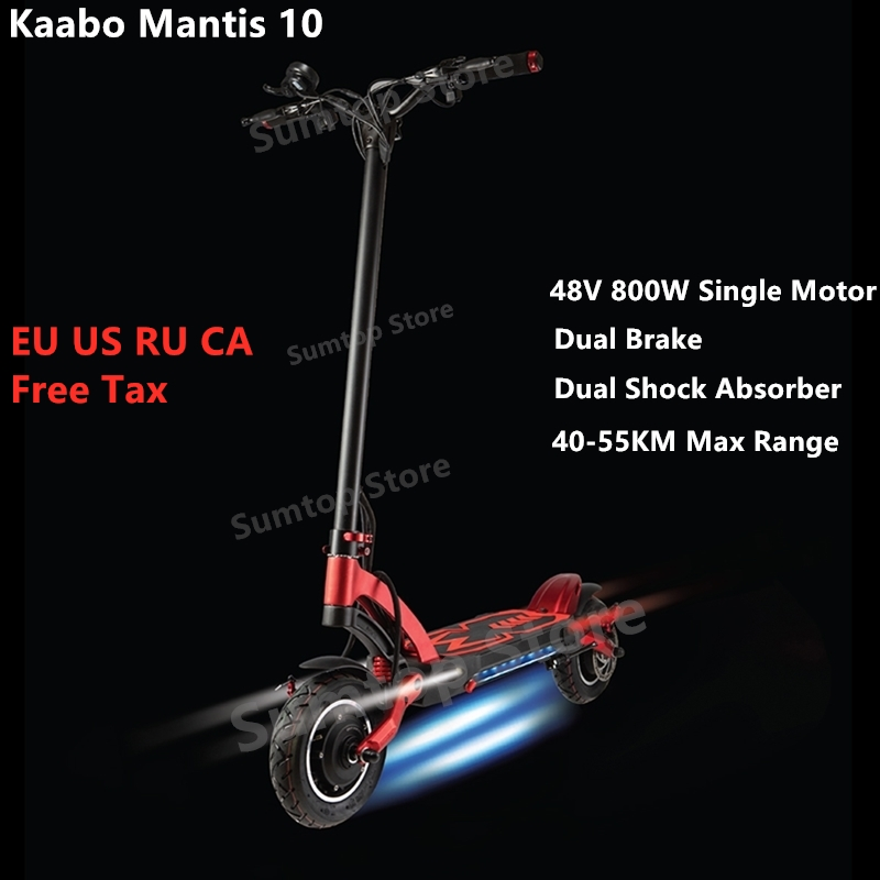 2020 Kaabo Mantis 10 Kickscooter 48V 500W /800W Single Motor Smart <font><b>Electric</b></font> <font><b>Scooter</b></font> 10
