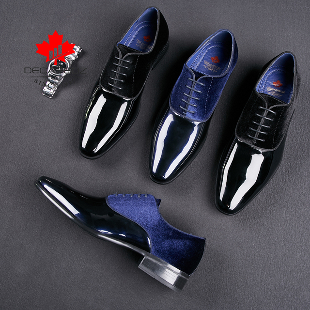 2020 Spring & Autumn Brand Wedding Dress Shoes-Men Shoes 5